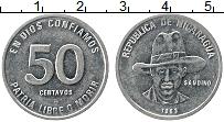 Изображение Монеты Никарагуа 50 сентаво 1983 Медно-никель UNC-