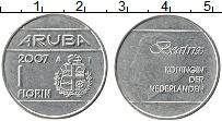 Изображение Монеты Аруба 1 флорин 2007 Медно-никель UNC-