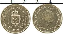 Изображение Монеты Антильские острова 1 гульден 2006 Латунь UNC-