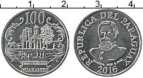 Изображение Монеты Парагвай 100 гуарани 2016 Медно-никель UNC- Генерал Хосе Эдувихи