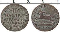 Изображение Монеты Брауншвайг-Люнебург 2 марьенгроша 1804 Серебро VF МС