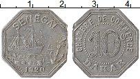 Изображение Монеты Африка Сенегал 10 сентим 1920 Алюминий VF