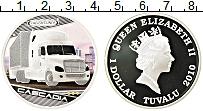 Изображение Монеты Тувалу 1 доллар 2010 Серебро Proof Цифровая печать. Ели