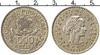 Изображение Монеты Бразилия 1000 рейс 1913 Серебро XF