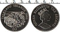 Изображение Монеты Фолклендские острова 50 пенсов 1990 Медно-никель UNC