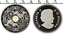 Изображение Монеты Канада 15 долларов 2012 Серебро Proof Елизавета II. Олени