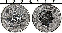 Изображение Монеты Острова Кука 1 доллар 2016 Серебро UNC Парусник.Елизавета I