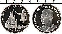 Продать Монеты Гамбия 20 даласи 1993 Серебро