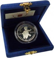Изображение Подарочные монеты Ватикан 2000 лир 2000 Серебро Proof-