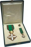 Изображение Подарочные монеты Италия Знак ордена 0  UNC