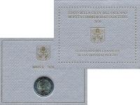 Изображение Подарочные монеты Ватикан 2 евро 2020 Биметалл UNC Монета посвещена 100