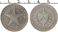 Изображение Монеты Куба 40 сентаво 1915 Серебро VF