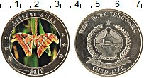 Изображение Монеты Индонезия 1 доллар 2018 Медно-никель UNC Цифровая печать. UNU