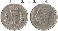 Изображение Монеты Люксембург 5 франков 1971 Медно-никель XF Жан