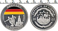 Изображение Монеты Либерия 10 долларов 2005 Серебро Proof
