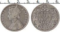 Изображение Монеты Индия 1 рупия 1900 Серебро XF Виктория