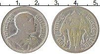 Изображение Монеты Таиланд 1/2 бата 1915 Серебро VF