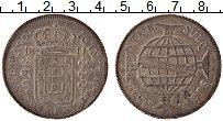 Изображение Монеты Бразилия 960 рейс 1811 Серебро XF