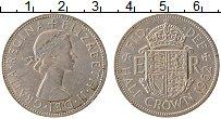 Изображение Монеты Великобритания 1/2 кроны 1962 Медно-никель VF