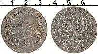 Изображение Монеты Польша 10 злотых 1932 Серебро VF Святая Ядвига