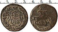 Продать Монеты 1762 – 1796 Екатерина II 2 копейки 1789 Медь