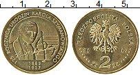 Изображение Монеты Польша 2 злотых 2007 Латунь XF 125 лет Каролю Шиман