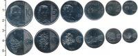 Изображение Наборы монет Филиппины Набор 2017-2018 гг. 2018 Медно-никель UNC