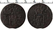 Изображение Монеты Швеция 1/4 эре 1635 Медь VF Швеция/Кристина (163