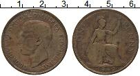 Изображение Монеты Великобритания 1 пенни 1940 Бронза VF