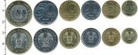 Изображение Наборы монет Казахстан Набор 2019 года 2019  UNC Набор из шести монет