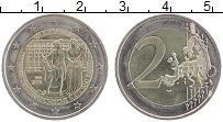 Изображение Мелочь Австрия 2 евро 2016 Биметалл UNC- Приблизительный разм