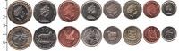 Изображение Наборы монет Фолклендские острова Фолклендские острова 2004-2011 0  UNC- В наборе 8 монет