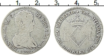 Изображение Монеты Испания 4 реала 1823 Серебро VF Валенсия. Фердинанд