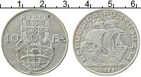 Изображение Монеты Португалия 10 эскудо 1955 Серебро XF