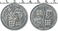 Изображение Мелочь Португалия 200 эскудо 1994 Медно-никель UNC- Открытия. 500 лет То