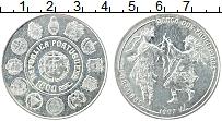 Изображение Монеты Португалия 1000 эскудо 1997 Серебро UNC Национальный танец П