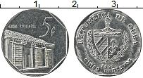 Изображение Монеты Куба 5 сентаво 2000 Сталь XF+