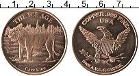 Изображение Монеты США 1 унция 1992 Медь UNC-