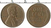Изображение Монеты США 1 цент 1956 Бронза XF