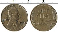Изображение Монеты США 1 цент 1958 Бронза XF
