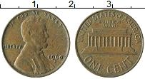 Изображение Монеты США 1 цент 1960 Бронза XF Линкольн p