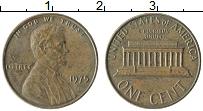 Изображение Монеты США 1 цент 1975 Бронза XF Авраам Линкольн