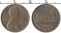 Изображение Монеты США 1 цент 1978 Бронза XF