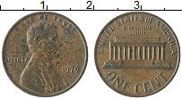 Изображение Монеты США 1 цент 1979 Бронза XF