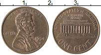 Изображение Монеты США 1 цент 1994 Бронза XF Авраам Линкольн D