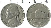 Изображение Монеты США 5 центов 1958 Медно-никель XF