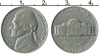 Изображение Монеты США 5 центов 1964 Медно-никель XF