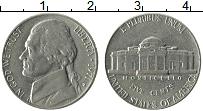 Изображение Монеты США 5 центов 1971 Медно-никель XF