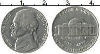Изображение Монеты США 5 центов 1978 Медно-никель XF Томас Джефферсон, Ус