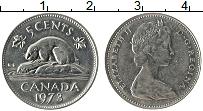 Изображение Монеты Канада 5 центов 1973 Медно-никель UNC-